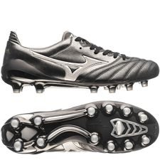 Mizuno Morelia Neo II Made in Japan FG Black Star - Svart/Silver
