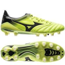 Mizuno Morelia Neo II Made in Japan FG Yellow Aurora - Gul/Svart