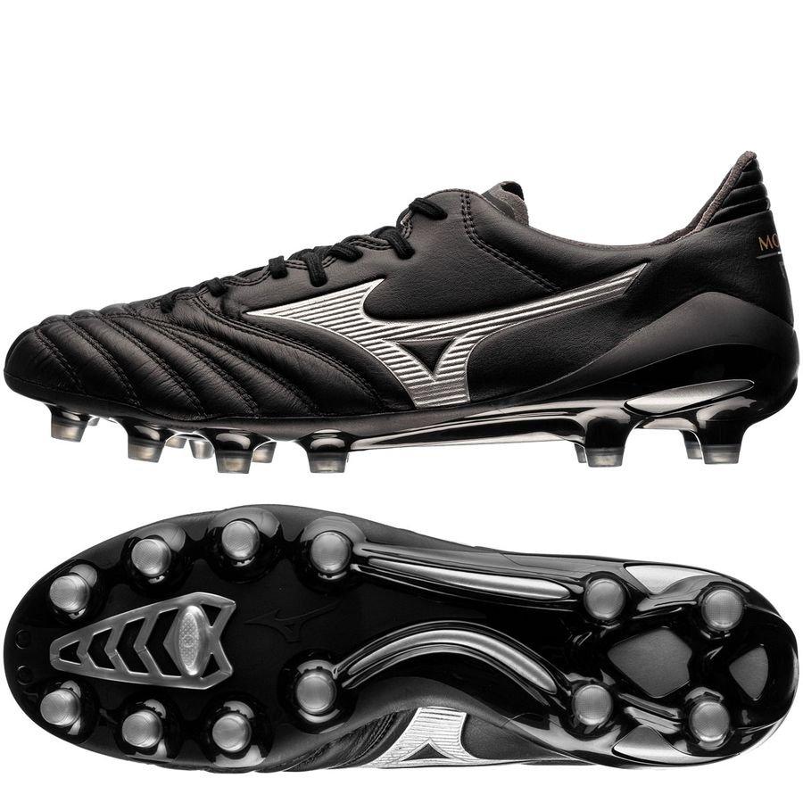 best sneakers a0b9e d14df Mizuno Morelia Neo II FG Black Star - Black/Silver