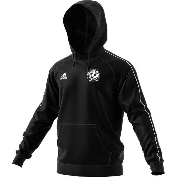 gentofte fodbold akademi - hættetrøje sort - hættetrøjer