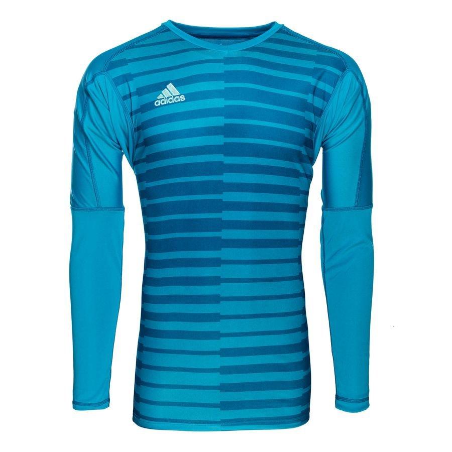 adidas Goalkeeper Shirt Adipro 18 L S - Bold Aqua Energy Aqua Kids ... 2477a5f65