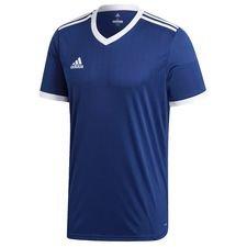 adidas spilletrøje tabela 18 - navy/hvid børn - fodboldtrøjer