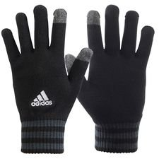 adidas player gloves tiro - black/grey - player gloves