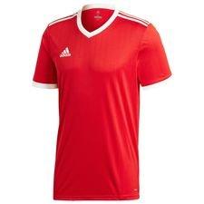 adidas spilletrøje tabela 18 - rød/hvid børn - fodboldtrøjer