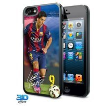 Image of   Barcelona iPhone 5 / 5S Hard Cover 3D Suárez