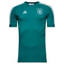 tyskland t-shirt - grøn/hvid børn - t-shirts