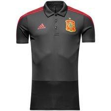 spanien polo - grå/rød - polotrøjer