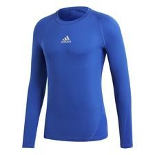 adidas Baselayer Alphaskin Sport L/S - Blau Kinder