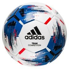 adidas football team competition - white/blue/black - footballs