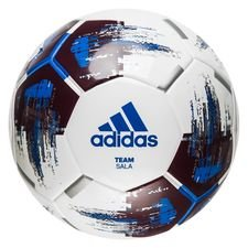 adidas football team sala futsal - white/bordeaux/blue - footballs