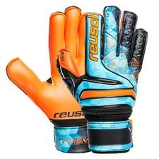 Reusch Målmandshandske Prisma S1 Evolution Finger Support Junior LTD - Blå/Sort/Orange Børn