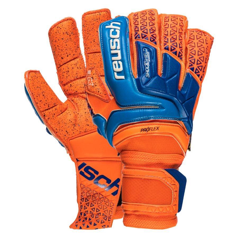 856b8936d70 Reusch Goalkeeper Gloves Prisma Supreme G3 Fusion - Shocking Orange/Blue    www.unisportstore.com
