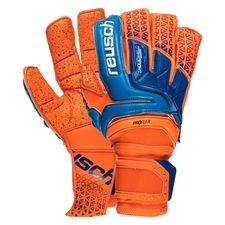 reusch goalkeeper gloves prisma supreme g3 fusion - shocking orange/blue - goalkeeper gloves