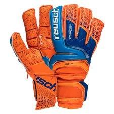 reusch målmandshandske supreme g3 fusion ortho-tec - orange/blå - målmandshandsker