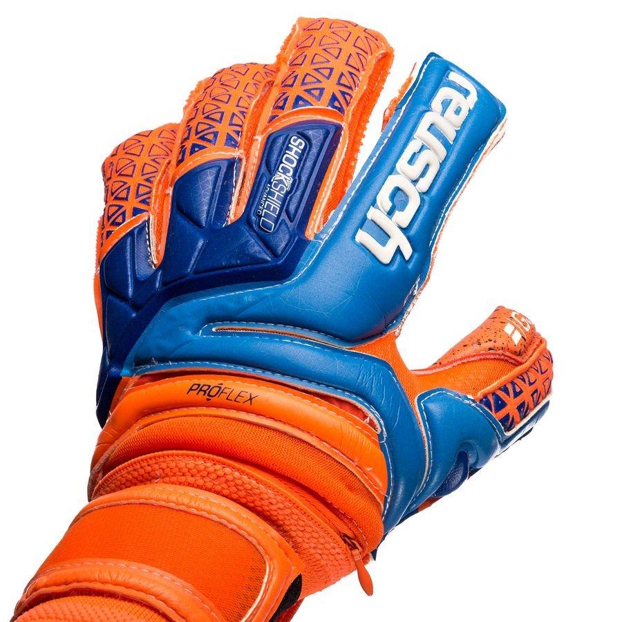 0817281bff5 Reusch Goalkeeper Gloves Supreme G3 Fusion Ortho-Tec - Shocking Orange/Blue    www.unisportstore.com