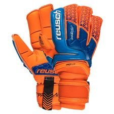 reusch goalkeeper gloves prisma deluxe g3 - shocking orange/blue - goalkeeper gloves