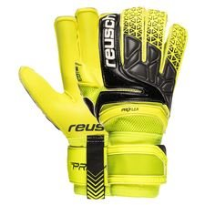 reusch goalkeeper gloves prisma pro g3 evolution - safety yellow/black - goalkeeper gloves