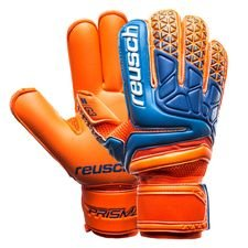 reusch goalkeeper gloves prisma pro g3 - shocking orange/blue/shocking orange - goalkeeper gloves