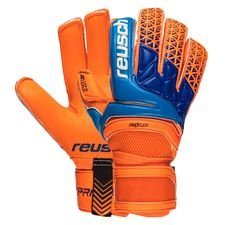 reusch goalkeeper gloves prisma pro g3 duo - shocking orange/blue - goalkeeper gloves