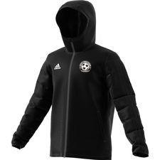 gentofte fodbold akademi - vinterjakke sort børn - jakker