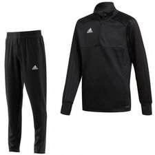 adidas condivo 18 kit - black/white - track suits