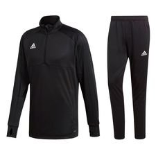 adidas condivo 18 kit ii - black/white kids - track suits