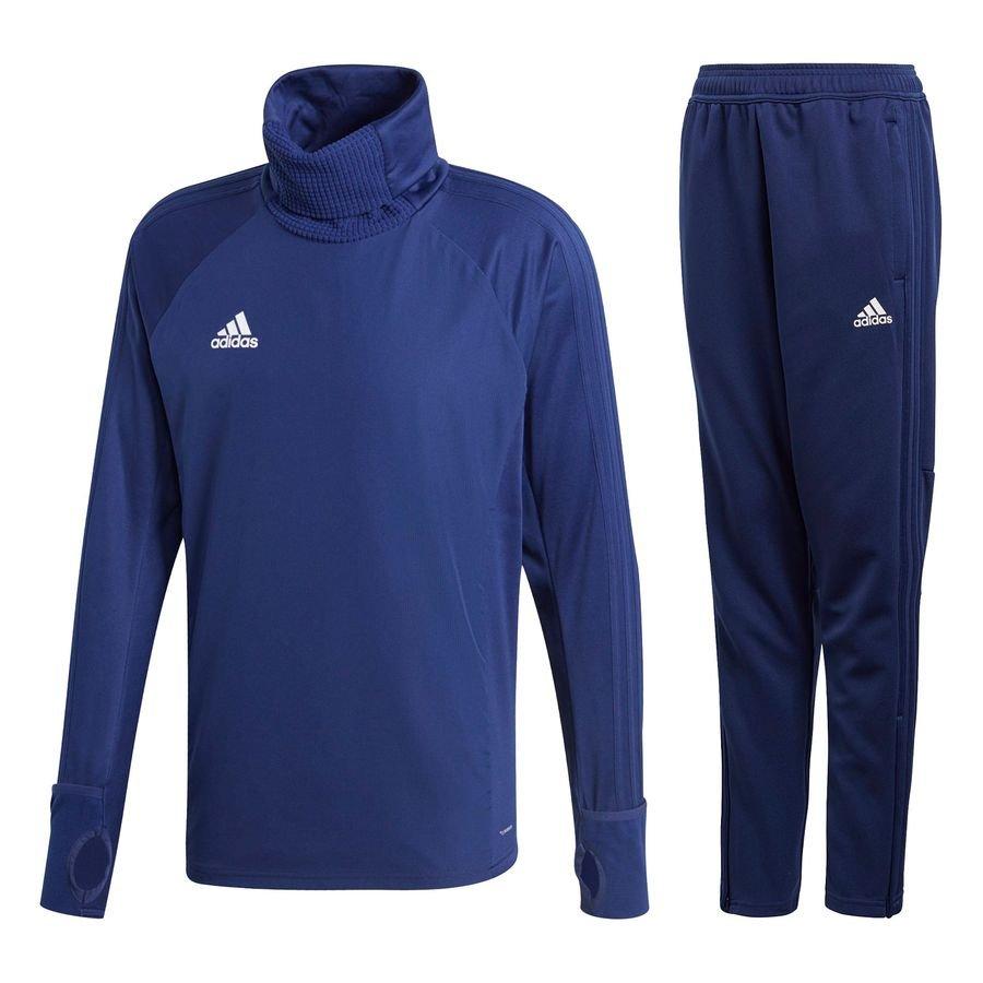 37376f377cd8 adidas condivo 18 kit - dark blue white - track suits