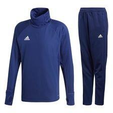 adidas condivo 18 kit - dark blue/white - track suits