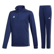 adidas core 18 kit - dark blue/white - track suits