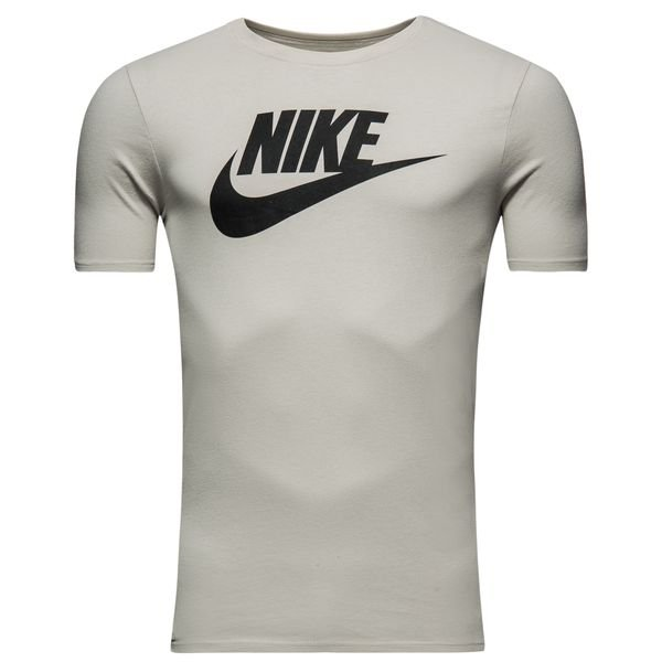 f09506c23 Nike T-Shirt NSW Futura Icon - Light Bone/Black | www.unisportstore.com