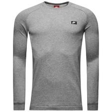 nike sweatshirt nsw modern crew ft - carbon heather - sweatshirts