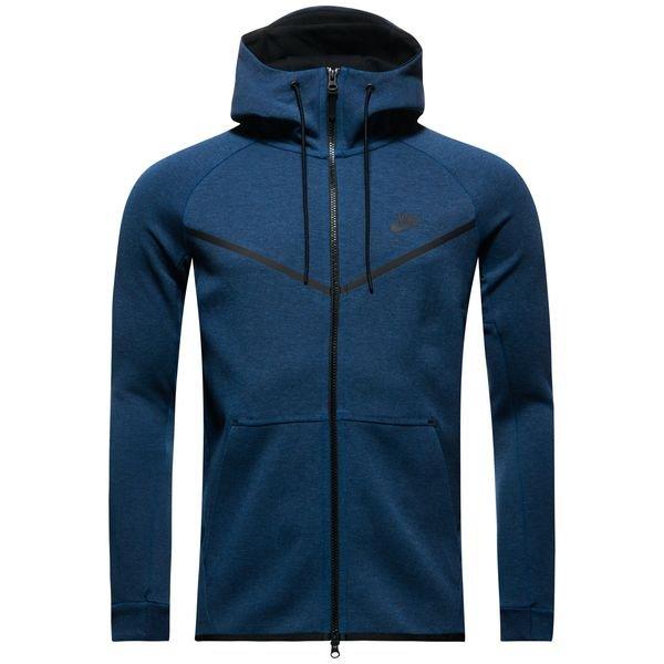 Nike Tech Fleece Windrunner FZ Bleu FoncéGrisNoir | www