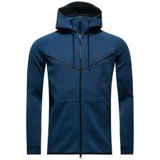 Nike Tech Fleece Windrunner FZ - Navy/Grå/Sort thumbnail