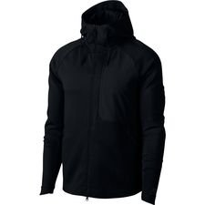 nike jacket nsw tech fleece hd - black - jackets