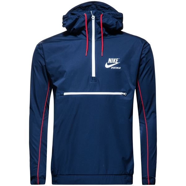 high fashion special for shoe available Nike Veste NSW HD Woven - Bleu Marine/Rouge/Blanc