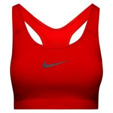 nike swoosh sports bra - red/gunsmoke women - underwear