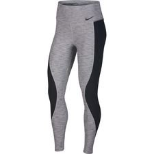 nike tights training power - grå/sort dame - baselayer