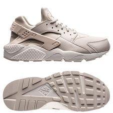 nike air huarache run - summit white/light bone women - sneakers