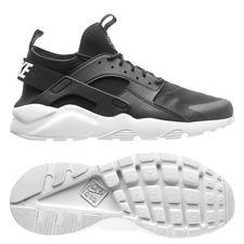 nike air huarache run ultra - sort/hvid - sneakers