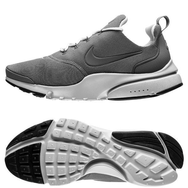 nike presto fly - grå/hvid/sort - sneakers