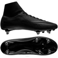 nike mercurial victory vi df sg academy pack - black - football boots