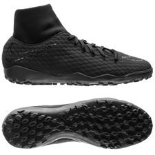 Nike HypervenomX Phelon 3 DF TF Academy Pack - Svart