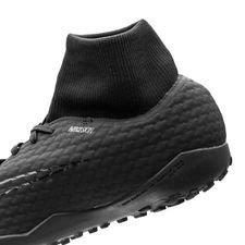 buy popular e3133 26dae ... nike hypervenomx phelon 3 df tf academy pack - svart - fotbollsskor ...