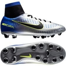 nike mercurial victory vi df ag-pro njr puro fenomeno - racer blue/black/chrome kids - football boots