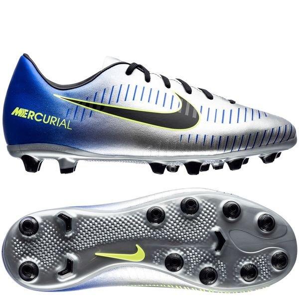 biggest discount 50% price great deals Nike Mercurial Victory VI AG-PRO NJR Puro Fenomeno - Bleu/Noir/Chrome Enfant