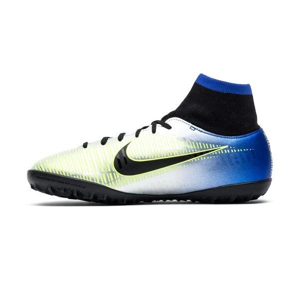 Nike Mercurialx Victoire Vi Df Tf Njr Puro Phénoménologie - Bleu / Noir / Enfants Chrome Coureur 9AVNIG05