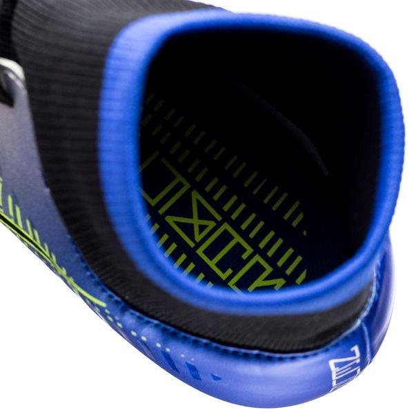 Nike Mercurial Victoire Vi Df Ag Phénoménologie Pro Njr Puro - Bleu Coureur / Noir / Chrome Enfants 2AA4G
