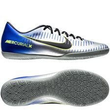 nike mercurialx victory vi ic njr puro fenomeno - blå/sort/chrome - indendørssko