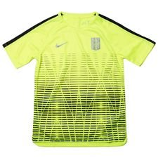 nike training t-shirt dry squad njr puro fenomeno - volt/black kids - training tops