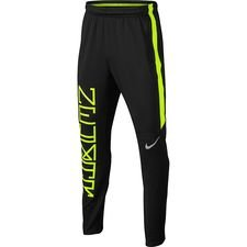 nike training trousers dry squad njr puro fenomeno - black/volt kids - training pants